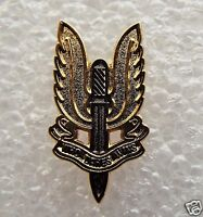 SAS Who Dares Wins metal enamel pin lapel badge Special Forces