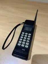 NEC BRICK MOBILE PHONE E-TACS 1990's