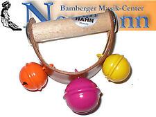 Hahn Schellenkranz 3 Schellen Kranz Bunt Orff Percussion