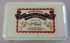 Empty Jack Daniels Pepper Patch Tennessee Tipsy Fudge Cake Tin