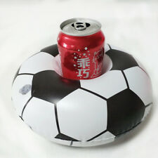 New Soccer Inflatable Floating Water Cup Holder Pool Party Beverage Coaster Toys