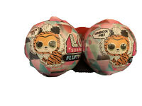 2 Each NEW LOL Surprise Winter Disco Fluffy Pets Sealed Balls IN HAND Authentic