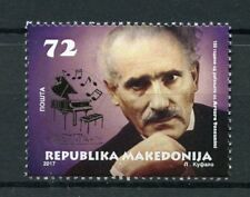 Macedonia 2017 MNH Arturo Toscanini Italian Conductur 1v Set Music Stamps