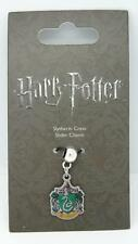 New Official Genuine Harry Potter Silver Plated Slytherin Slider Charm