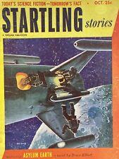 STARTLING STORIES October 1952 pulp magazine vintage Science fiction $.25