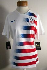 Nwt Nike Team Usa Womens 2018 Stadium Home Soccer Jersey Xl White Msrp$90