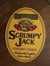 PUB COASTER - Symond's SCRUMPY JACK  strong cider (England) - NEW