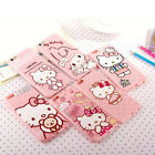 Cartoon Pink TPU Soft Hello Kitty Cute Case Cover for iPhone 7 Plus 5S 6 6S Plus