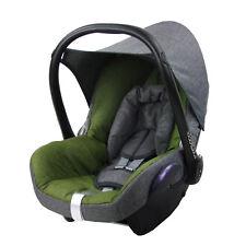 BAMBINIWELT Ersatzbezug 6tlg. Maxi-Cosi CABRIOFIX Baby MELIERT GRAU/DUNKELGRÜN