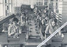Berlino-Lorenz-Werke-lavori di montaggio per - 1955-raramente i 17-12