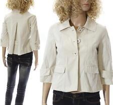 Cue Regular Size 100% Cotton Coats & Jackets for Women
