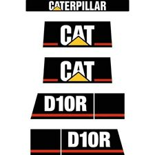 Decal Sticker Set CAT D10R Bulldozer Decal Set