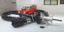 Land Rover Serie 3 Cable Velocímetro Smiths Jeager Speedo Unidad De Cabeza De Clip