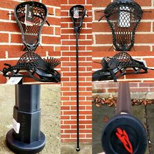 New Defensive Complete Custom Lacrosse Stick Head Hand Strung w/ Mid High Pocket