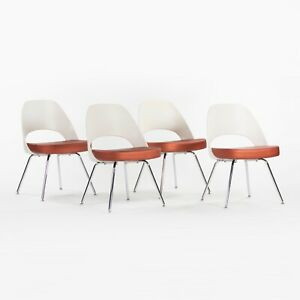 2012 Eero Saarinen Knoll Executive Armless Dining Side Chairs 4 or 8 Available
