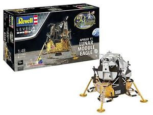 Revell Moon Landing - Apollo 11 Lunar Module Eagle Model Kit 1:48 Scale