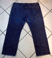 "7 FOR ALL MANKIND ""AUSTYN"" SIZE 38 INSEAM 29 MEN'S RELAXED DENIM BLUE JEANS"