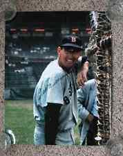 Original Signed HOF TED WILLIAMS Red Sox 16x20 Baseball Color Photo JSA LOA