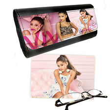 Ariana Grande Reading Glasses Pictaletather Case & Lens Cleaning Cloth