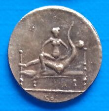 Ancient Rome Tessera Spintriae Erotic Token Roman Sex Coin Position XVI.