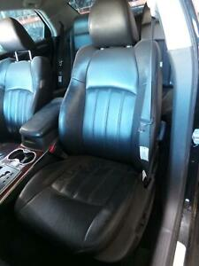 CHRYSLER 300C FRONT SEAT LH FRONT, LEATHER, BLACK, 11/05-12/11 05 06 07 08 09 10