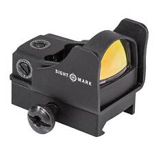 Sightmark Mini Shot Pro Spec Red Dot Reflex Sight w/Riser Mount - Red SM26006