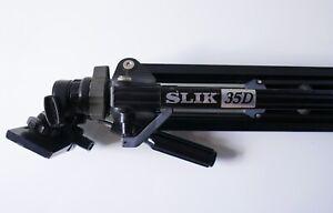 Trépied vintage pour appareil photo SLIK 35 D—Hauteur 140 cm