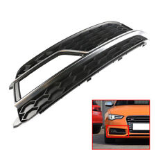 For AUDI S5 A5 13-15 Front Bumper Fog Light Grill Cover Trim Chrome Right