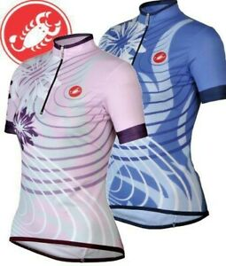Castelli Fiori Women's Short Sleeve Cycling Jersey Size Small