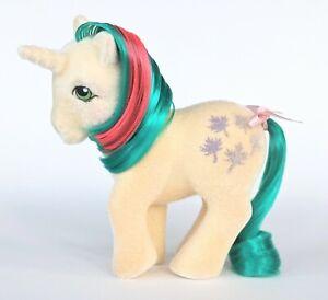 Vintage G1 My Little Pony So Soft GUSTY ~Gorgeous Flocking!