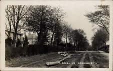 Dorridge. Arden Road. Logs.