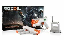 Recoil Laser Tag Starter Set GPS enabled Multi-Player Smartphone Game WiFi Hub