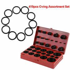 419pcs Universal O-Ring Assortment Set Automotive Rubber Seal Gasket Metric Kit