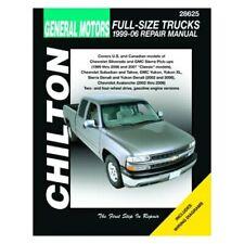 For Chevy Silverado 1500 99-06 General Motors Full-Size Trucks Repair Manual
