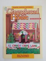 House of White Birches Plastic Canvas Gingerbread House Pattern Booklet 1995