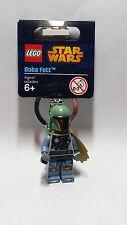 Brand New Lego - Boba Fett Keyring (2014) - Star Wars - 850998