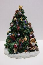 Boyds Bears & Friends - The Twelve Days of Christmas - Lighted Tree