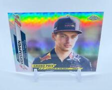New listing Max Verstappen Topps Chrome Formula 1 Refractor - F1 Card #178 Red Bull Racing
