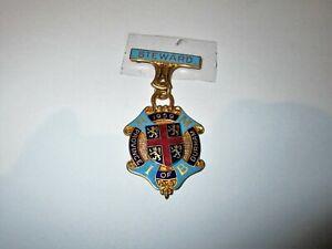 Royal Masonic Institution for Boys Steward Jewel 1959 Durham