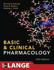 LANGE Basic Science: Basic and Clinical Pharmacology by Bertram G. Katzung, Susa