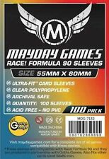 100 Buste Protettive / Boardgame Sleeves 55x80 mm MayDay