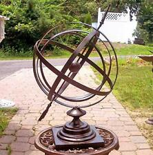 "Large 24"" Iron Arrow Armillary Sphere"