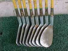 Spalding Par Flite Tournament Model Tour Blade Steel Golf Clubs 8 Iron Set 2 - 9