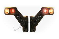 2x LED Umrissleuchten LKW Positionsleuchte Seitenmarkierungsleuchte 12 24 Volt