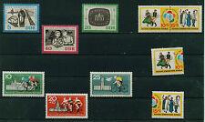 (ddr28) DDR 1964, Michel kat.886-888, 905-906,905 zd, 916,923-924, cachet