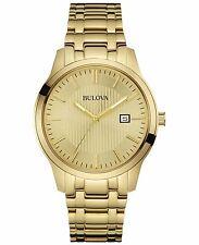 Bulova Men's 97B145 Quartz Gold-Tone Stainless Steel 40mm Bracelet Watch