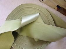 "2 3/4"" HANK Antique/Vintage Silk Rayon Satin Back Velvet Ribbon Made in France"