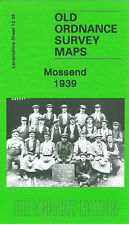 OLD ORDNANCE SURVEY MAP MOSSEND 1939