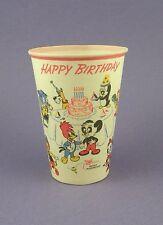 1957 Woody Woodpecker Waxed Party Cup c/r Walter Lantz - Original 1950s