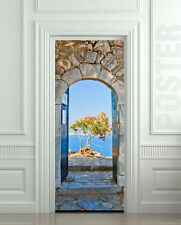 Door STICKER Greek arche decole